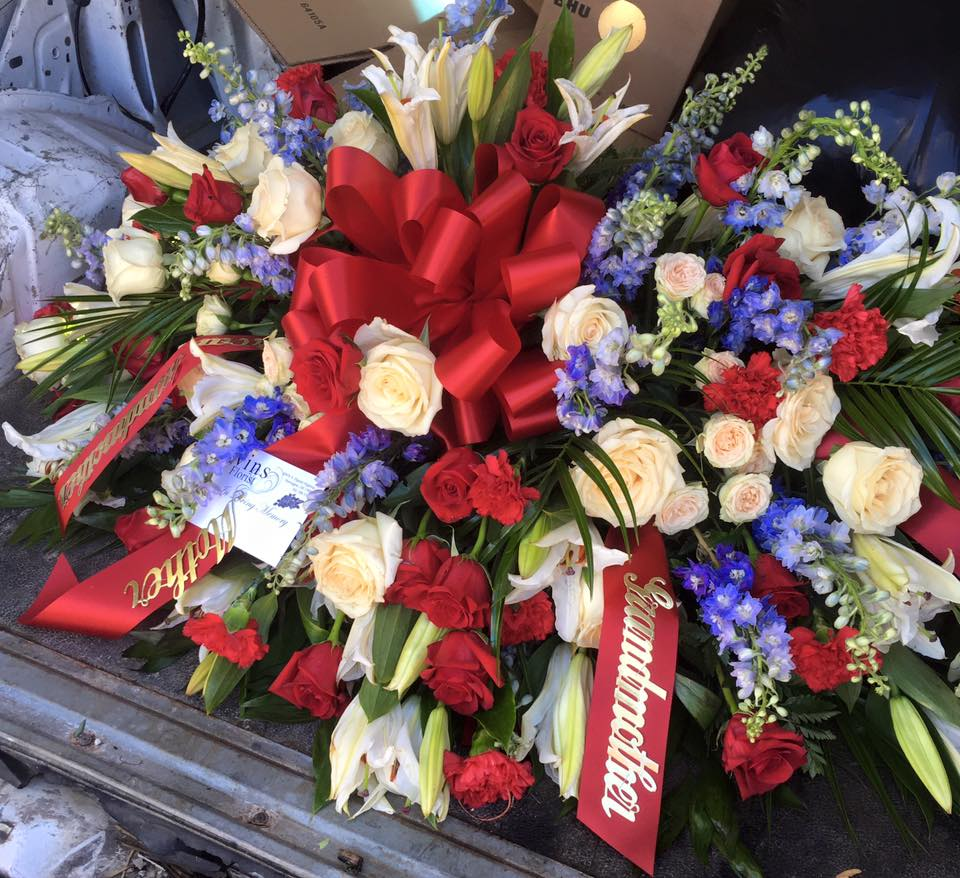 Sympathy ivins florist ivins florist has a wide selection of funeral casket and sympathy flowers our expert florists can help you order the right ones izmirmasajfo